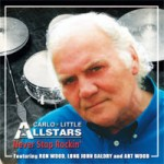 CARLO-LITTLE ALL STARS Never Stop Rockin'
