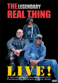 THE REAL THING Live At The Liverpool Philharmonic 2013